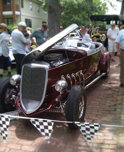 Highland Park IL Car Show fuelfed July 31