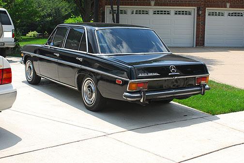 1971 Mercedes Benz Deisel Fuelfed 174