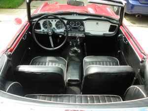 Triumph Tr4 For Sale Palatine Fuelfed 174