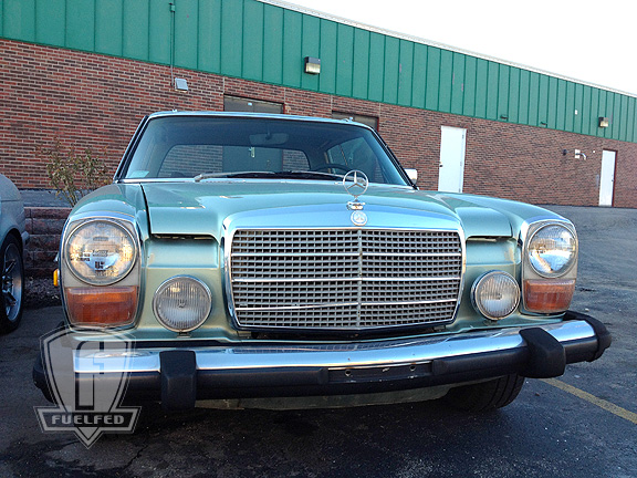Mercedes-250c-Milwaukee-brass-rooster-bayview-road-trip ...