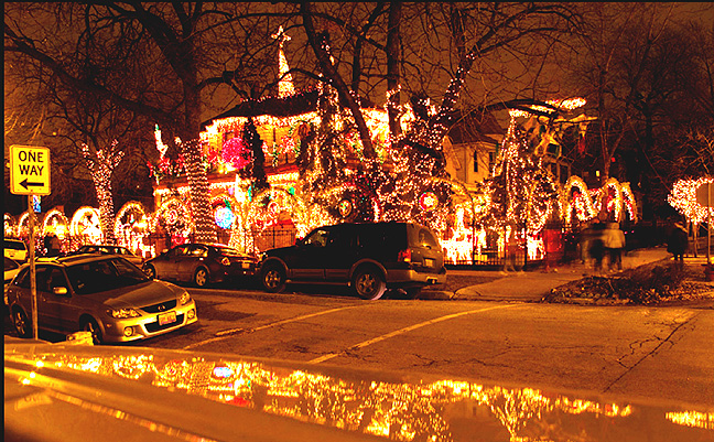Delightful 2011 Fuelfed Chicago Christmas Lights Winner Pictures Gallery