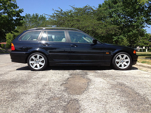 bmw e46 touring stationwagon sportwagen black 323i fuelfed. Black Bedroom Furniture Sets. Home Design Ideas