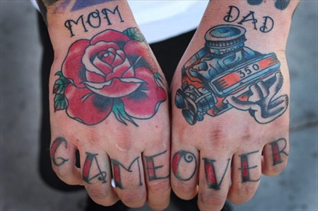 Game-over-tatoo