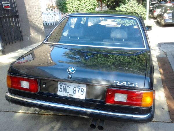 FFotW 1985 BMW 745i Turbo