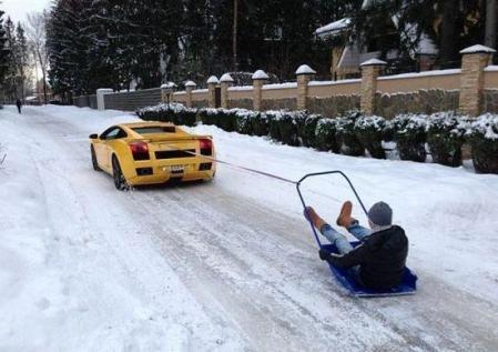 Lambo-Snow