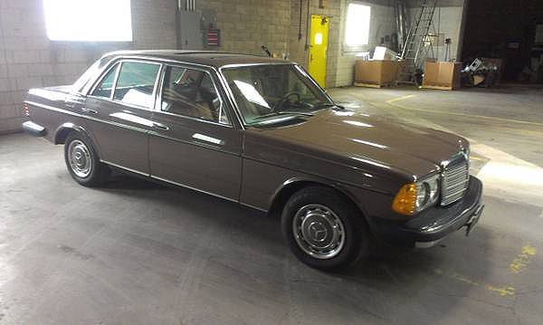 Fuelfed mercedes 280se for sale 1977 w123 fuelfed for Mercedes benz w123 for sale