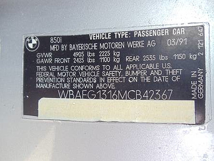 fuelfed-bmw-850csi-VIN