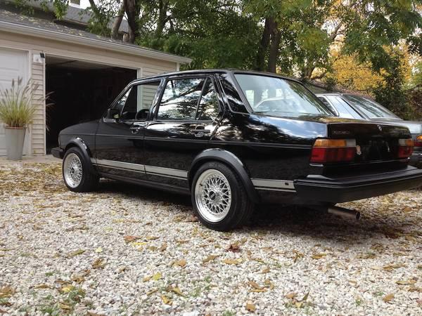 diesel vw mk1 jetta turbo classic black for sale chicago fuelfed. Black Bedroom Furniture Sets. Home Design Ideas