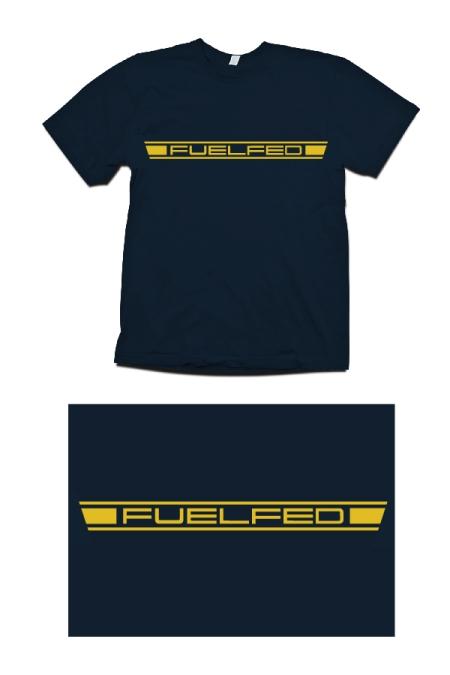 B Fuelfed Horizontal T-shirt